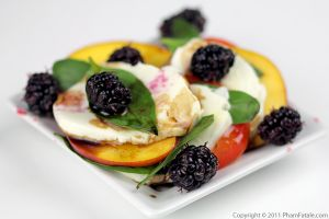 Fruit Caprese Salad Recipe