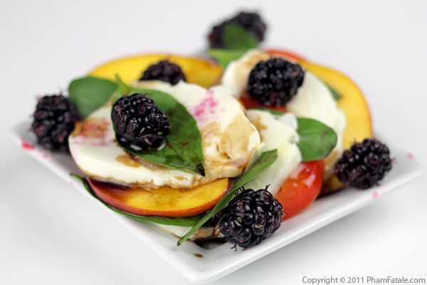 Fruit Caprese Salad Recipe Recipe