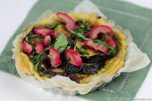 Zucchini Tart Recipe (Tarte aux Courgettes)