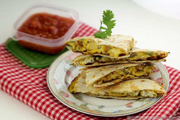 Breakfast Quesadilla Recipe Recipe