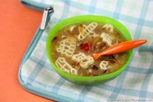 Vegetable Pasta Soup Recipe (Lunch Ideas For Kids)