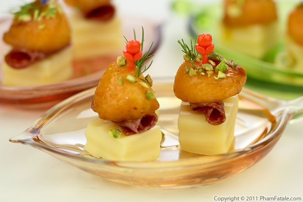 Cantaloupe and Cheese Appetizer Recipe Recipe