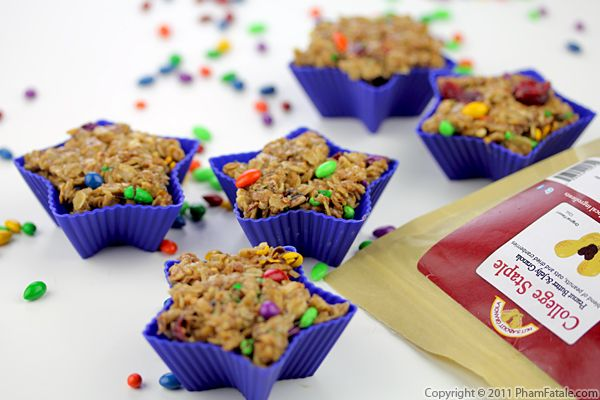 Granola Marshmallow Treat Recipe (+ Giveaway) Recipe