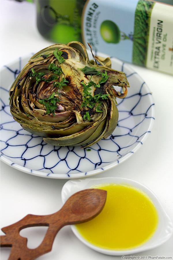 Grilled Baby Artichoke Recipe Recipe