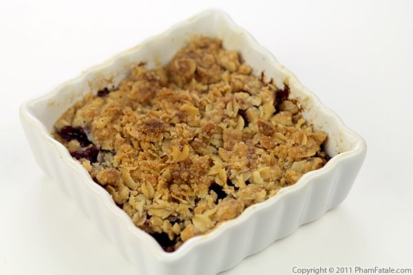 Plum Crisp Recipe with Picture