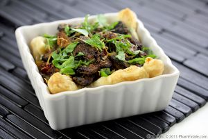 Baby Bella Mushroom Tart Recipe