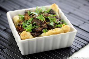Baby Bella Mushroom Tart Recipe