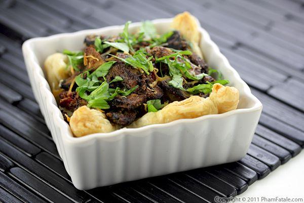 Baby Bella Mushroom Tart Recipe Recipe