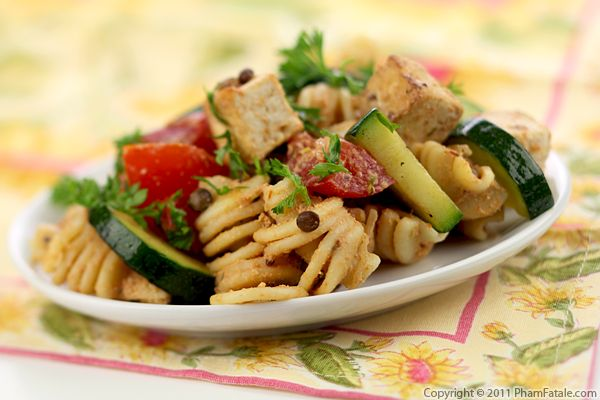 Cold Pasta Salad Recipe Pham Fatale