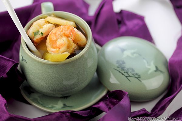 Canh Chua Tom Recipe (Vietnamese Shrimp Soup) Recipe