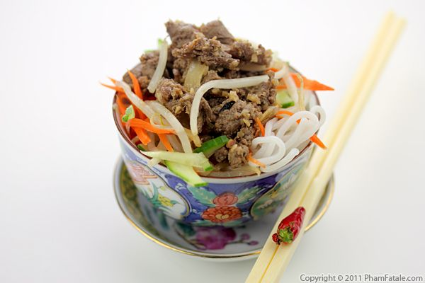 Bo Xao Xa Ot Recipe (Vietnamese Lemongrass Beef) Recipe