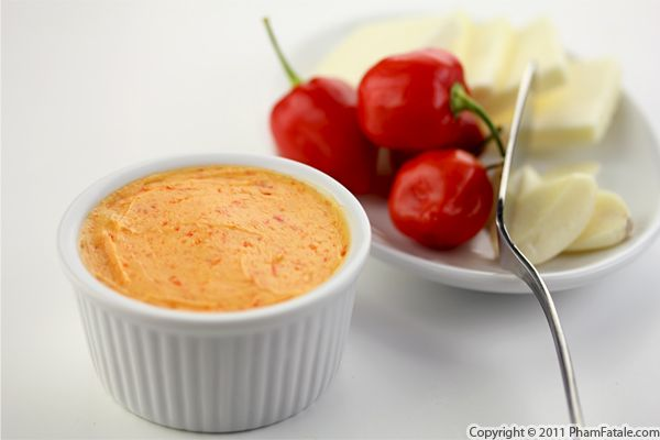 Spicy Butter Recipe (with Habanero Chiles) Recipe