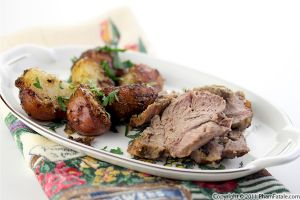 Roasted Lamb Shoulder Recipe