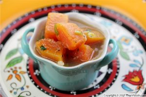 Papaya Soup Recipe (Canh Du Du)