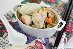Mi Do Bien Recipe (Seafood Noodle Soup Recipe)