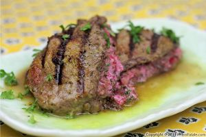 Cranberry Cream Cheese Stuffed Steak Recipe
