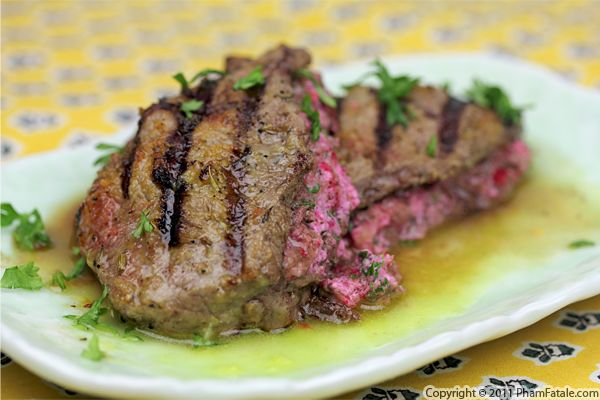 Cranberry Cream Cheese Stuffed Steak Recipe Recipe