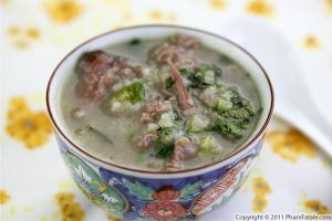 Chao Thit Bo Recipe (Vietnamese Beef Rice Soup)