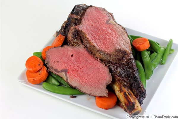 Oven Prime Rib Roast Recipe with Picture