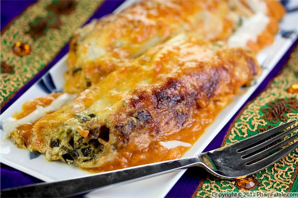 Manicotti Pasta Recipe with Picture