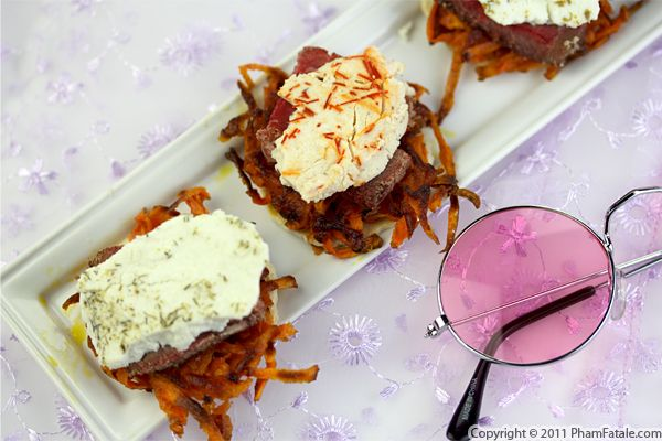 Lamb and Goat Cheese Appetizer Recipe (+Giveaway) Recipe