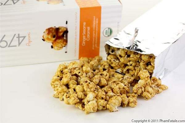 Ginger Sesame Popcorn Recipe with Picture