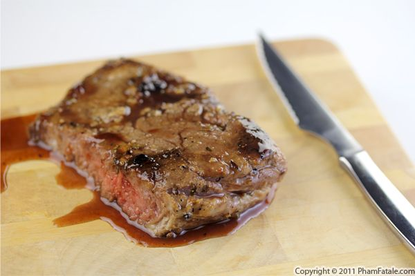 Glazed steak Recipe with Picture