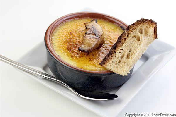 Foie Gras Creme Brulee Recipe (+Giveaway) Recipe