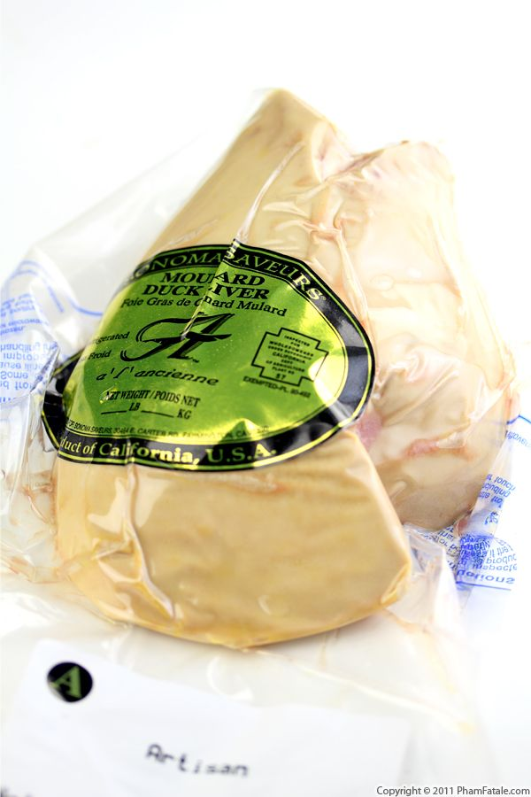 Foie Gras Recipe with Picture