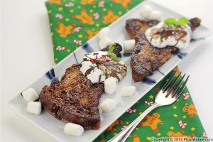Chocolate French Toast Recipe (Pain Perdu) + Giveaway