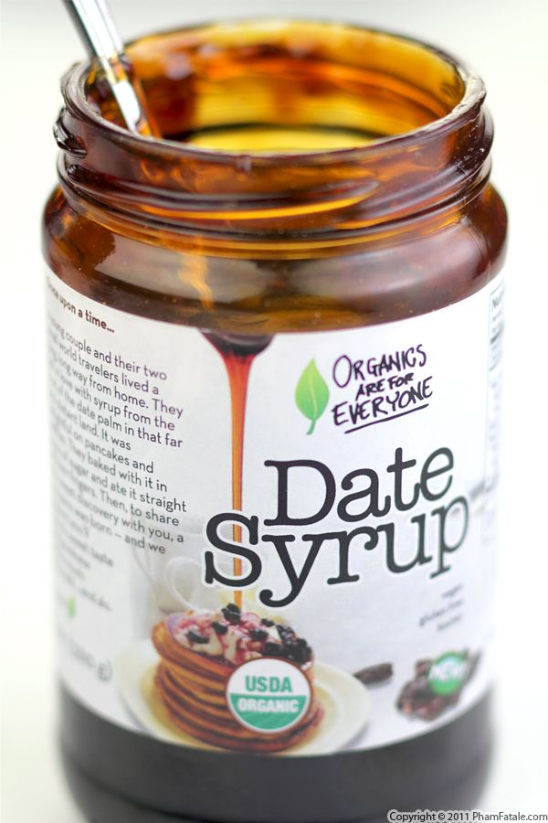 date syrup recipe with picture