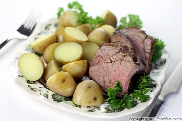Lamb Sirloin Roast Recipe with Picture