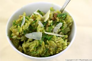 Mache Pesto Risotto Recipe (+Giveaway)