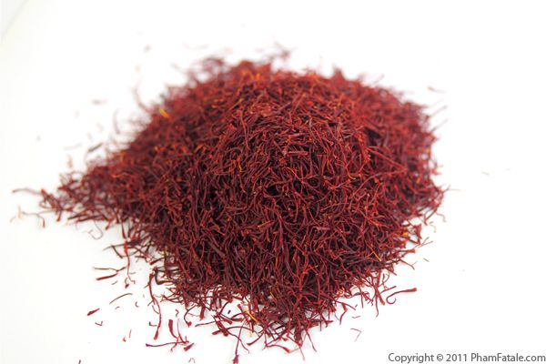 Saffron Recipe with Picture
