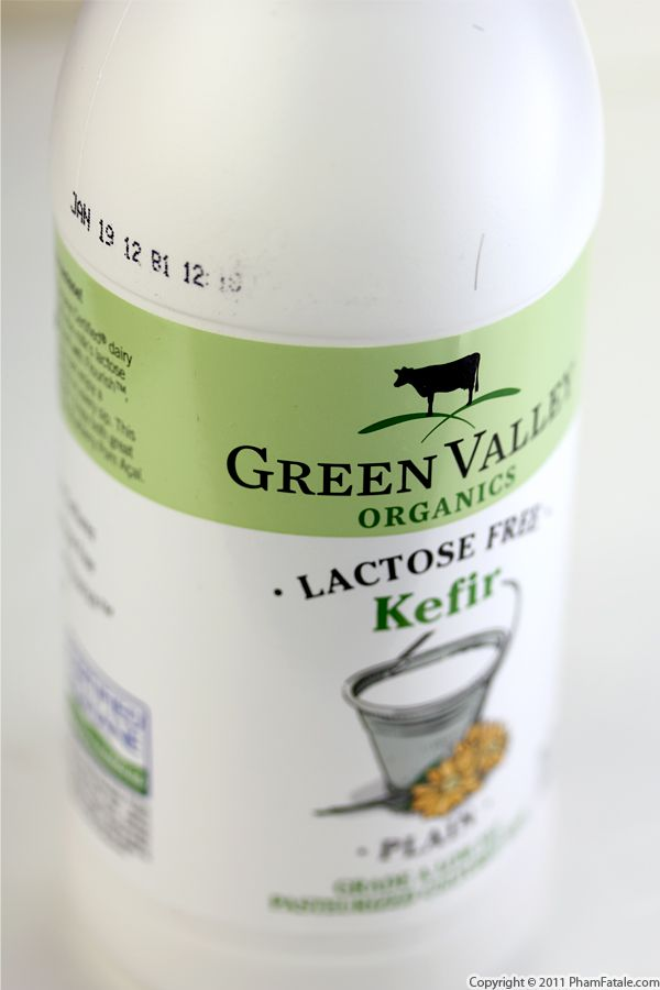 Green Valley Organics Kefir Recipe with Picture
