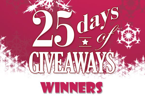 25 Days of Giveaways Winners Recipe