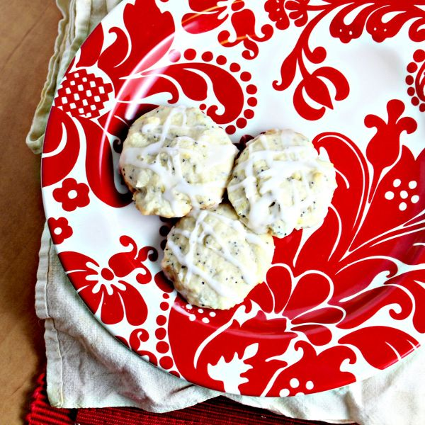 Lemon Poppyseed Cookies  Recipe