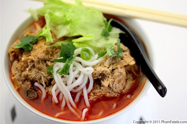 Bun Rieu Cua Recipe (Vietnamese Crab Noodle Soup) Recipe