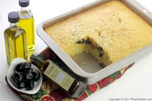 Olive Cornbread Recipe