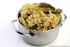 Brussels Sprouts Risotto Recipe
