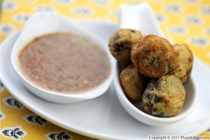 Fried Feta Cheese Stuffed Olive Recipe