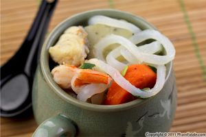 Banh Canh Recipe (Vietnamese Shrimp Broth with Udon Noodles)