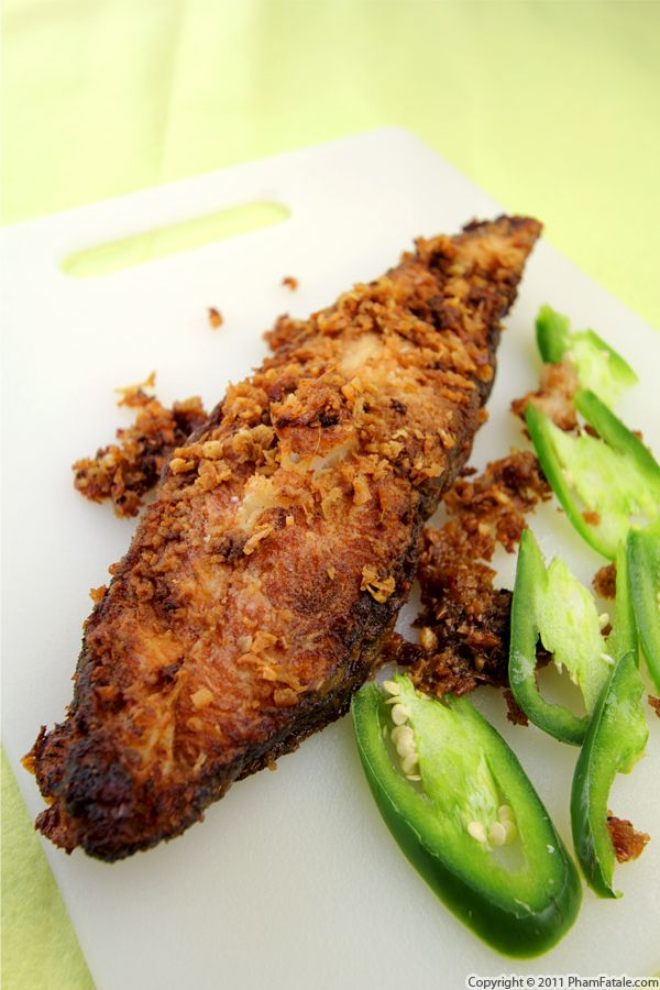 Chile Fish with Yuzu Paste Recipe