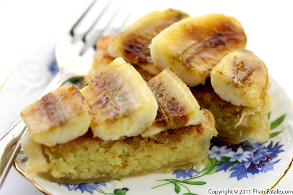 Banana Tart Recipe with Picture