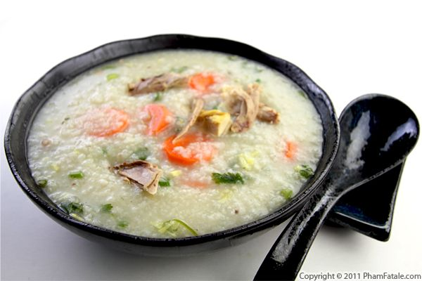 Chao Vit Recipe (Vietnamese Duck Rice Soup) Recipe