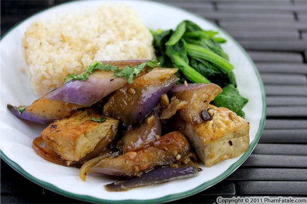 Spicy Eggplant Tofu Recipe Recipe
