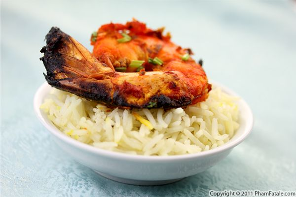 Grilled Tandoori Shrimp Recipe with Picture