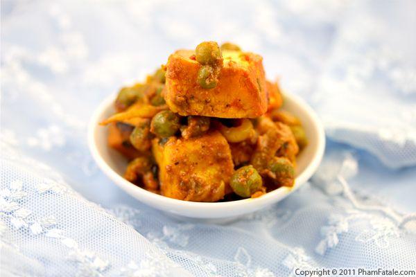 Tandoori Mattar Paneer Recipe Recipe