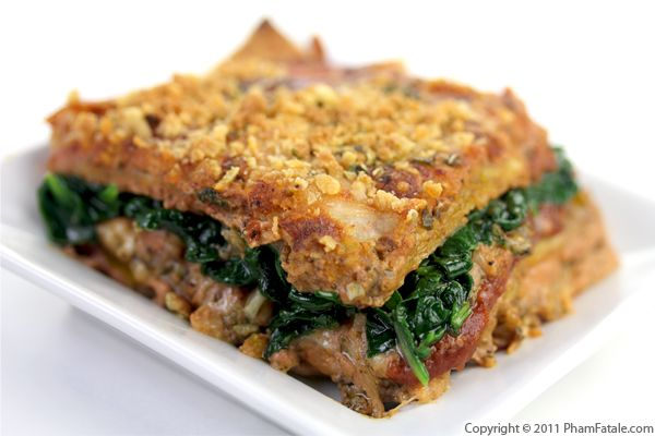 Quick and Easy Vegetarian Lasagna Recipe Recipe