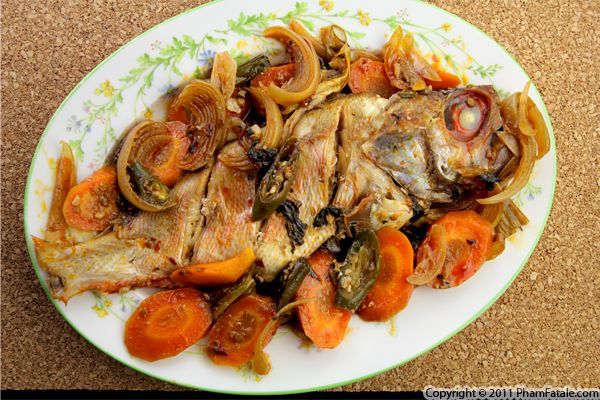Red Snapper en Papillote Recipe